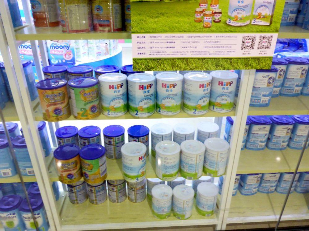 Milchpulver für die Kollegen