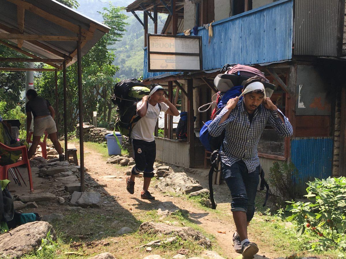 Arbeiten in Nepal