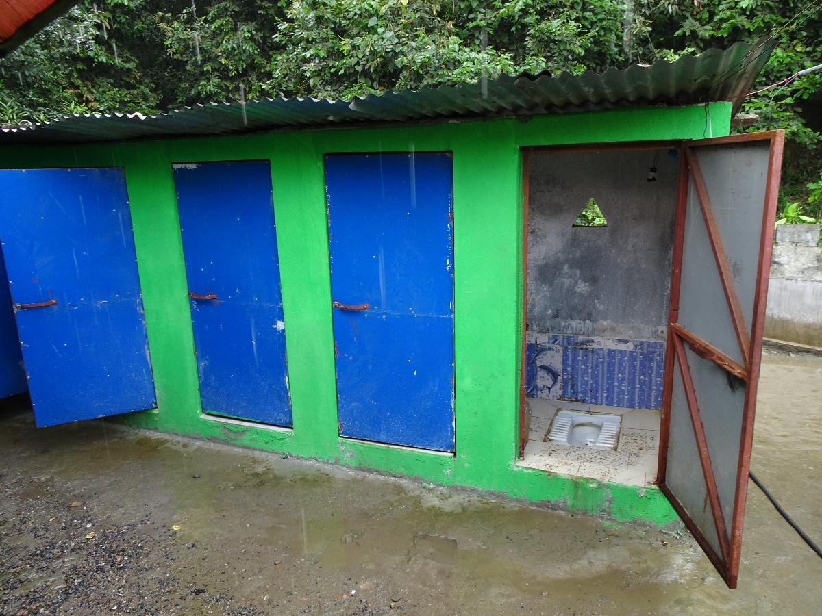 Toiletten in Nepal